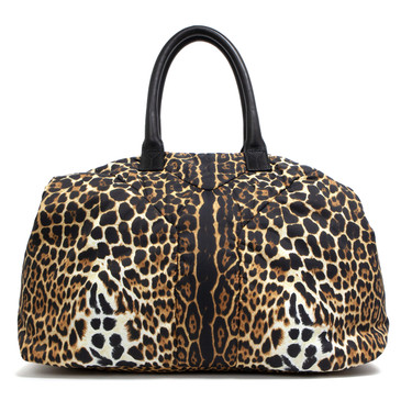 Yves Saint Laurent Animal Print Nylon Easy Y Bag