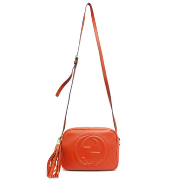 Gucci Orange Soho Disco Bag