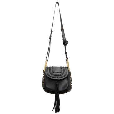 Chloe Black Calfskin Mini Hudson Bag