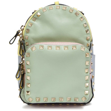 Valentino Calfskin Mini Rockstud Backpack