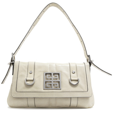 Givenchy Ivory Mini Flap Bag