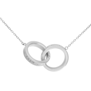 Tiffany & Co. Sterling Silver 1837 Interlocking Circles Pendant