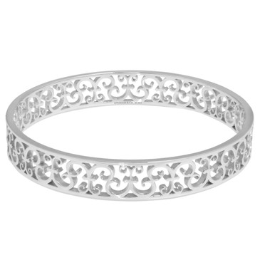 Tiffany & Co. Sterling Silver Enchant Bangle