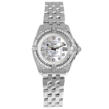 Breitling Cockpit Diamond Ladies Quartz Watch A71356