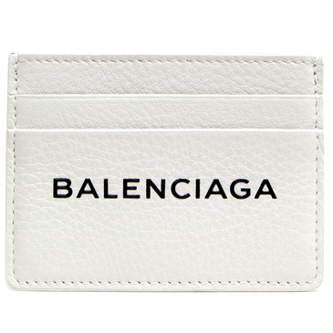 Balenciaga White Everyday Multi Card Holder