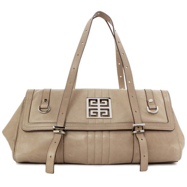 Givenchy Taupe Small Satchel