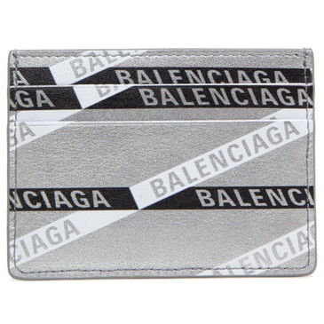Balenciaga Silver Everyday Multi Card Holder