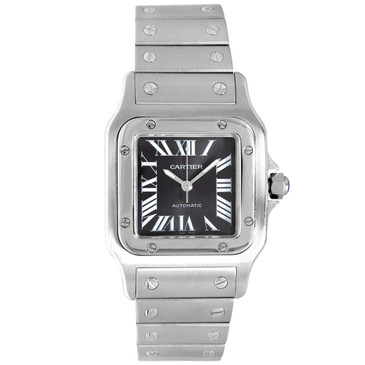 Cartier Stainless Steel Santos Galbee  Automatic Watch