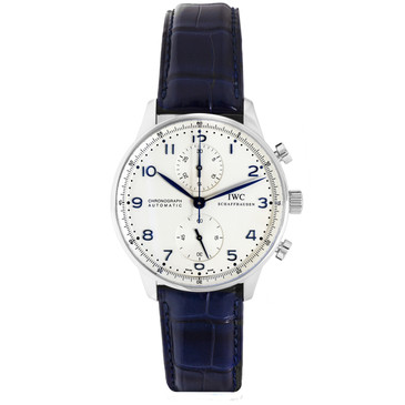 IWC Stainless Steel Portuguese Chronograph IW371446