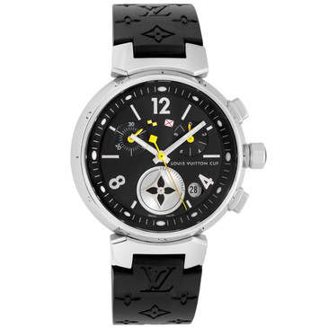Louis Vuitton Tambour Lovely Cup Quartz Chronograph Q132G