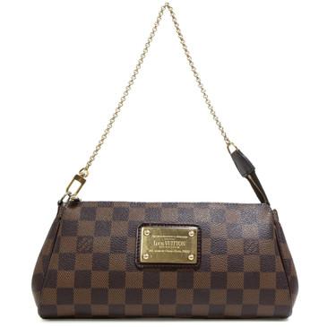 Louis Vuitton Damier Ebene Eva Clutch e22e8fa784cc2