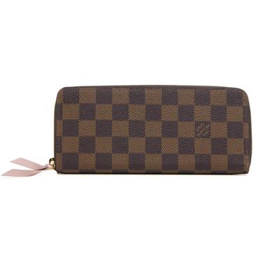 Louis Vuitton Damier Ebene Clemence Wallet