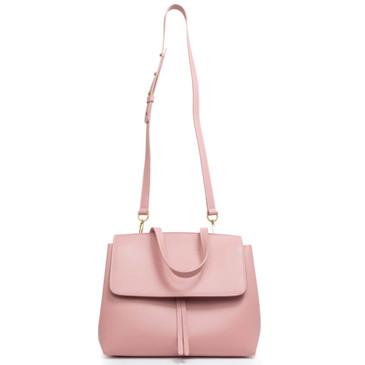 Mansur Gavriel Coral Calfskin Mini Lady Bag