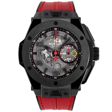Hublot Black Ceramic Unico Ferrari Watch 401.CX.0123.VR