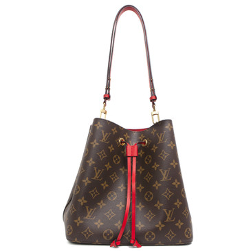 Louis Vuitton Monogram Coquelicot NeoNoe W/ Braided Handle