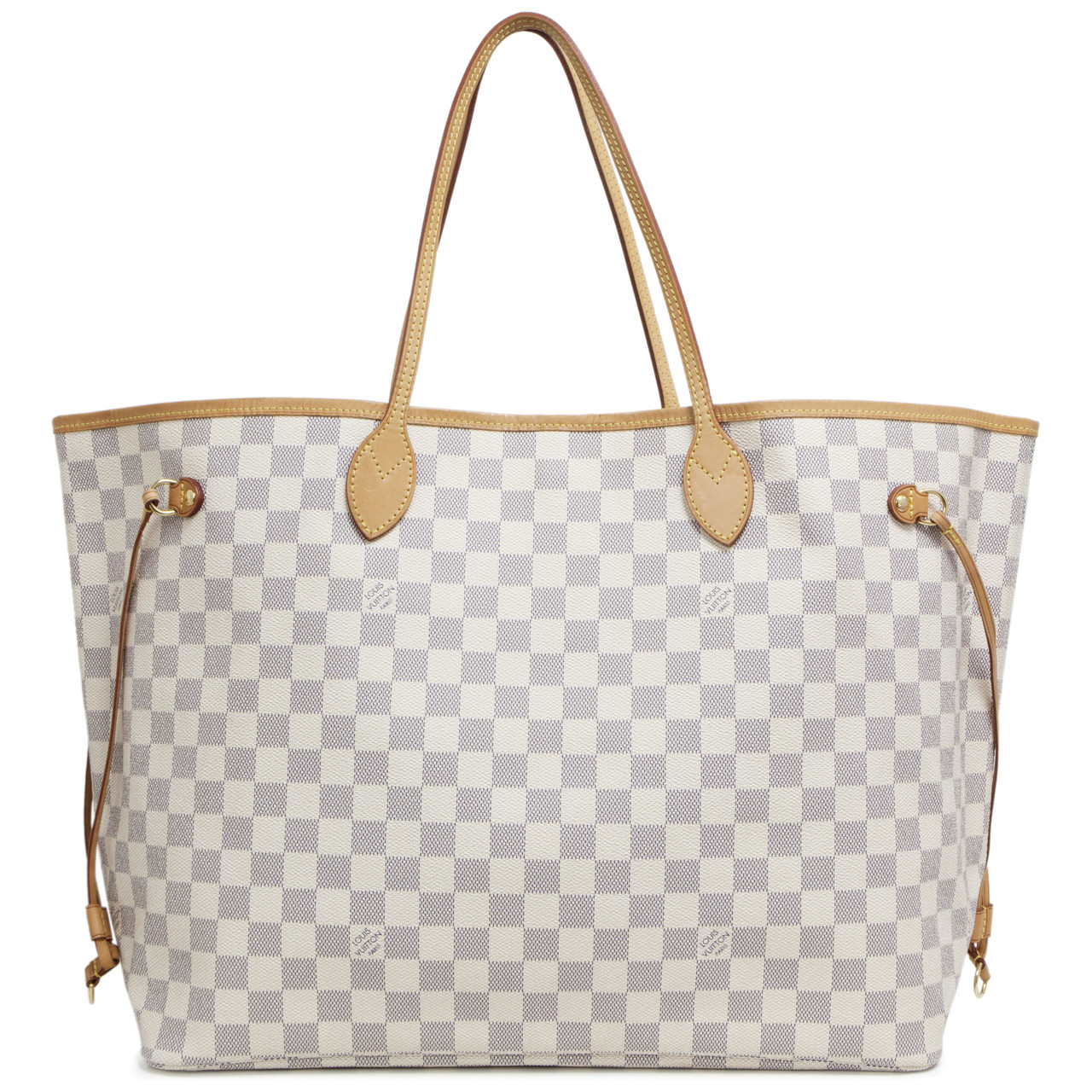 55d35d9557fa Louis Vuitton Damier Azur Neverfull GM - modaselle