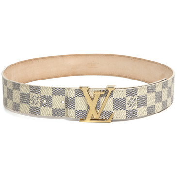 Louis  Vuitton Damier Azur Initiales 40mm Belt
