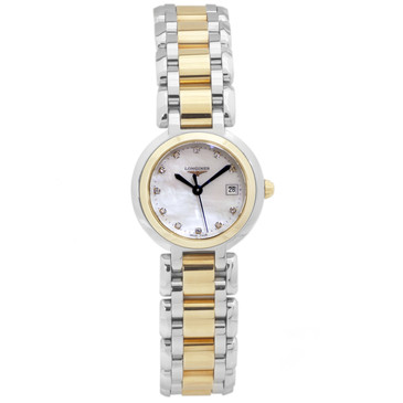 Longines Mother of Pearl & Diamond Primaluna Ladies Watch L8.110.5.93.6