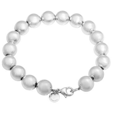 Tiffany & Co. Sterling Silver  HardWear  Ball Bracelet