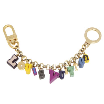 Louis Vuitton Multicolor Resin Playtime Key Holder/ Bag Charm