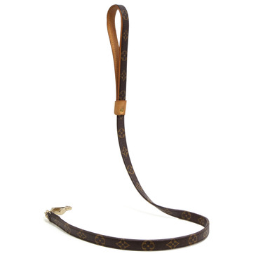 Louis Vuitton Monogram Baxter Dog Leash MM