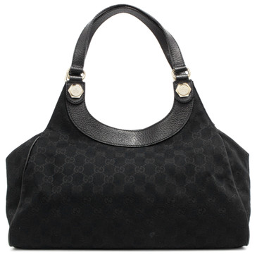 9fe7ba17a79e Chanel Black Quilted Lambskin Small Classic Double Flap. Compare. Recently  Sold. Gucci Black Monogram Charmy Medium Shoulder Bag