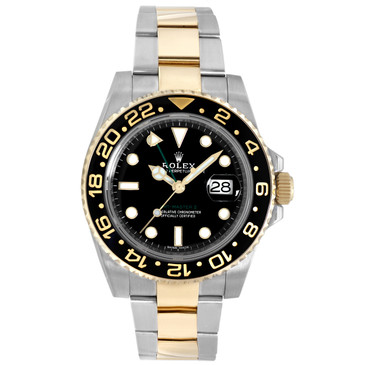Rolex 18K Yellow Gold & Stainless Steel GMT Master II 116713LN