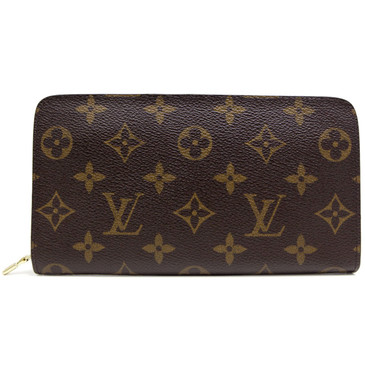 Louis Vuitton Monogram Porte-Monnaie  Zippy Wallet