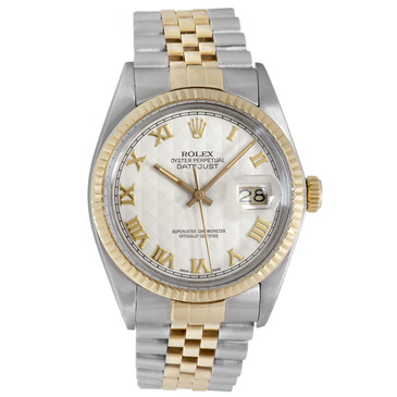Rolex 18K & Stainless Steel Datejust 16013