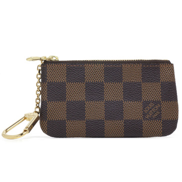 73311ea60686 Louis Vuitton Damier Ebene Key Pouch