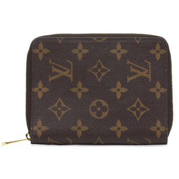 Louis Vuitton Monogram Zipped Passport Holder