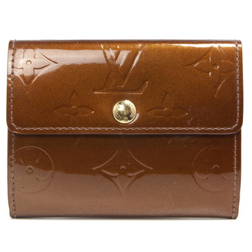 Louis Vuitton Bronze Vernis Ludlow Wallet
