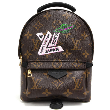 Louis Vuitton Monogram Palm Springs Mini My LV World Tour Backpack