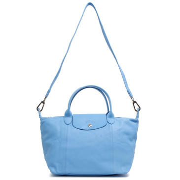 Longchamp Small Le Pliage Cuir Tote