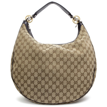 Gucci Canvas GG Twins  Hobo