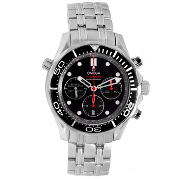 Omega Stainless Steel Seamaster Diver 300M Co-Axial Chronograph 212.30.44.50.01.001
