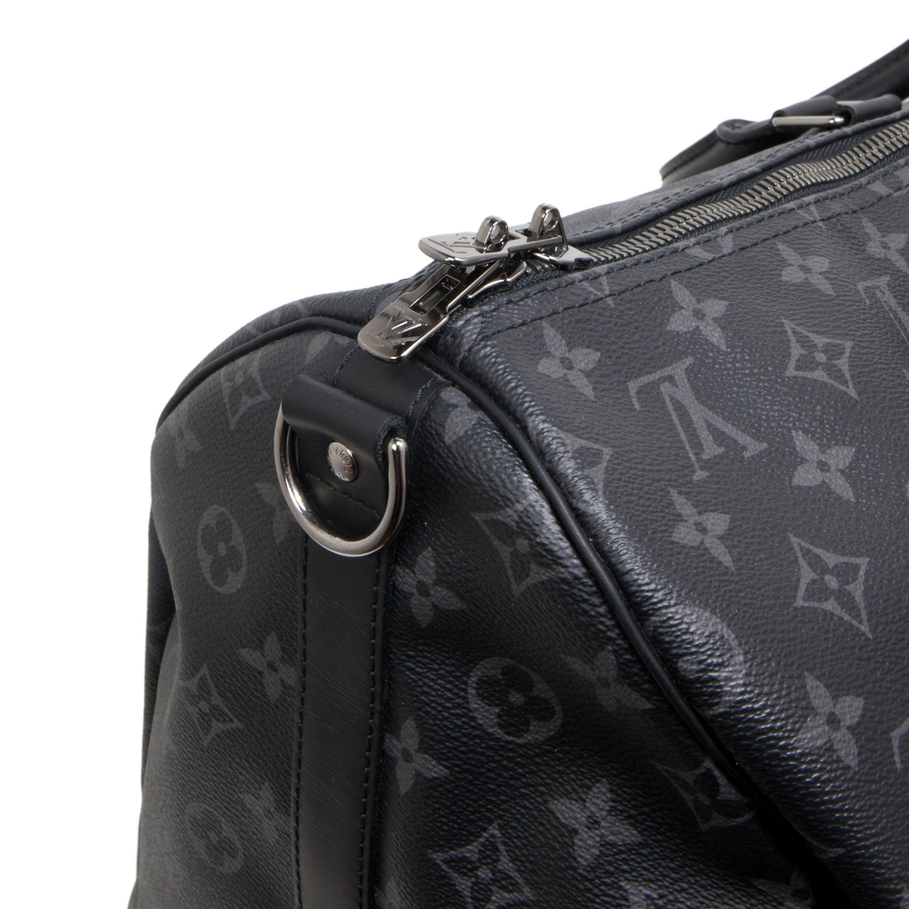 b5da5057dc04 Louis Vuitton Monogram Eclipse Keepall Bandouliere 55 - modaselle