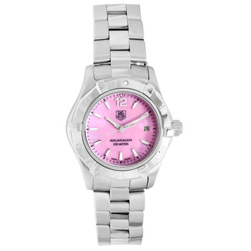 Tag Heuer Stainless Steel Aquaracer Quartz Ladies Watch WAF1418