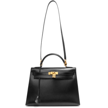 Hermes Black Box Kelly Sellier 32