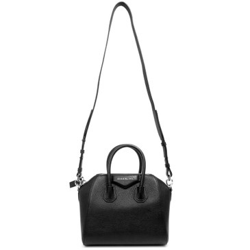 Givenchy Black Sugar Goatskin Mini Antigona