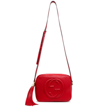 Gucci Red Soho Disco Bag