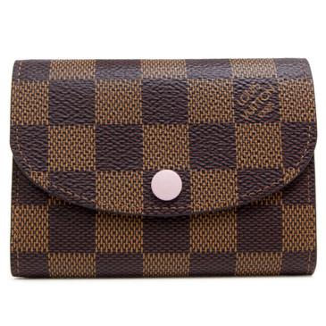 Louis Vuitton Damier Ebene Rosalie Coin Purse