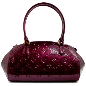 2f184e2aebd7 Louis Vuitton Rouge Fauviste Vernis Sherwood PM