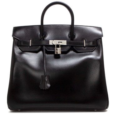 Hermes Black Box HAC Birkin 32