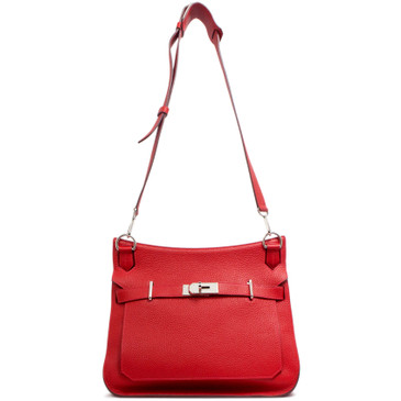 Hermes Red Togo Jypsiere 31