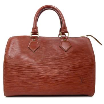Louis Vuitton Kenyan Fawn Epi Speedy  25