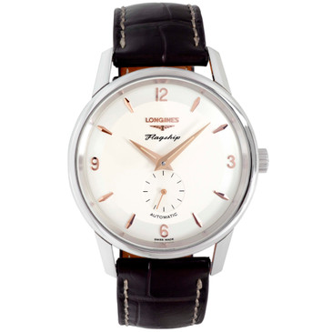 Longines Stainless Steel Flagship Heritage Automatic Watch L48174762
