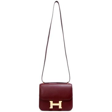 Hermes Bordeaux Evercolor Constance 18