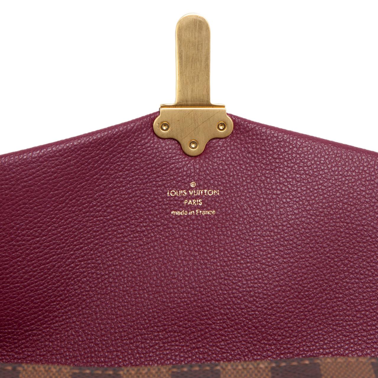 745248c79 Louis Vuitton Damier Ebene Clapton PM - modaselle