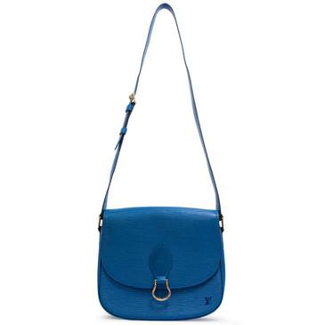 Louis Vuitton Vintage Blue Epi Saint Cloud GM